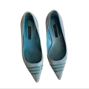 Marc Jacobs Vtg Suede Kitten Heels Shoes Italy